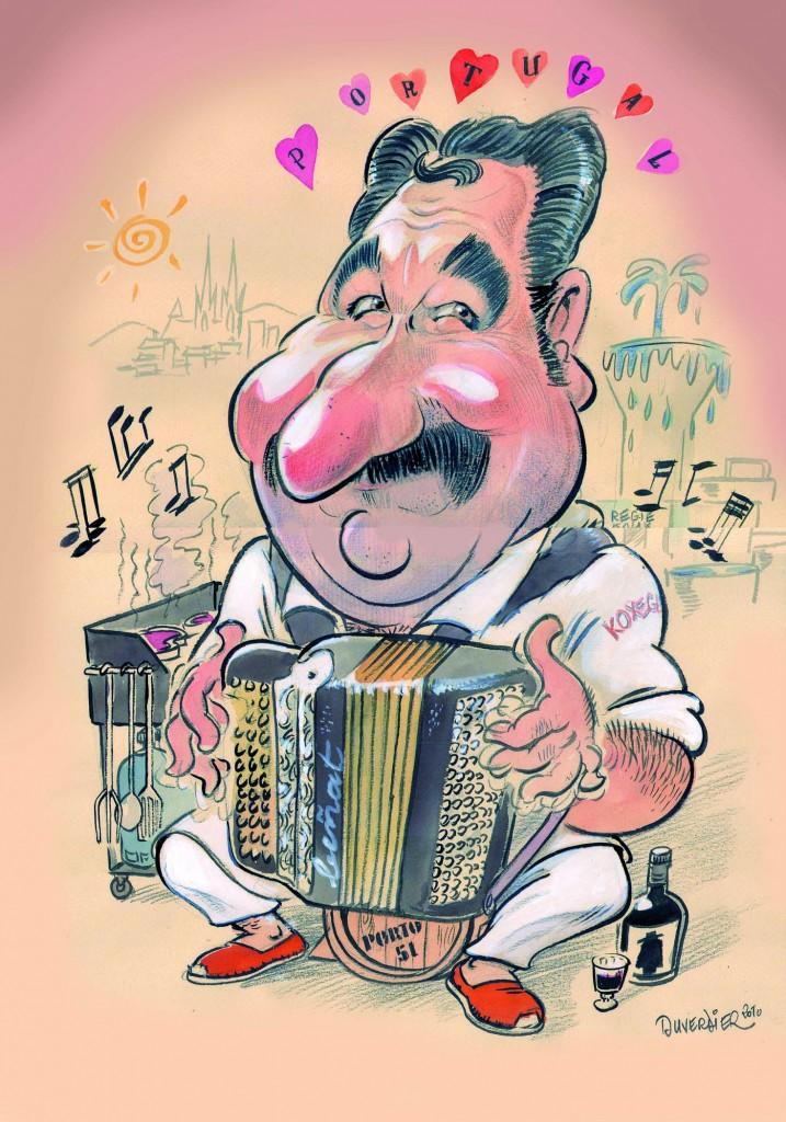 Caricature et dessin humoristique par caricaturiste - Dessin cuisinier humoristique ...